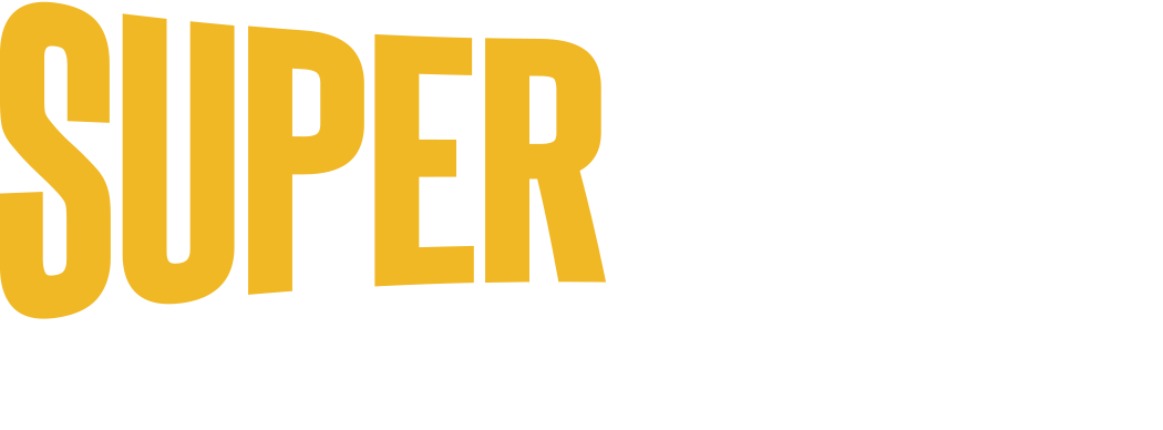 SuperBook Logo in White and Yellow
